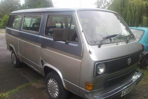 VW T25 1.6td transporter, camper van project. Currently multivan
