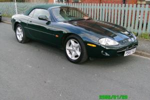 1996 JAGUAR XK8 CONVERTIBLE AUTO GREEN
