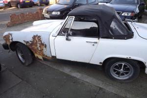 mg midget classic car Photo