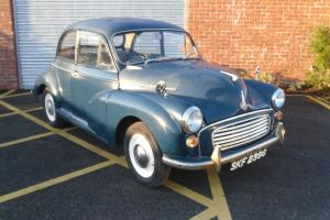 G Reg Morris Minor 1000 showing 82,900 Miles Photo