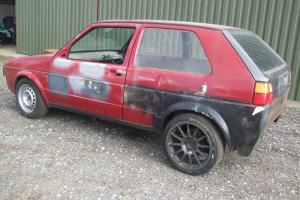 VW golf rear wheel drive drifter track day unusual R.W.D Volkswagen golf