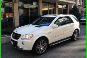 Mercedes-Benz : M-Class ML63 AMG 4MATIC with WARRANTY