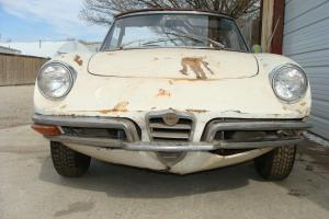 1970 ALFA ROMEO BOAT TAIL SPIDER PROJECT - RUNS,  TEXAS