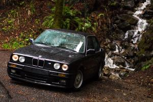 """The only E30 320is in the US: the """"Italian M3"""" with S-14 motor with 66,000 miles"""