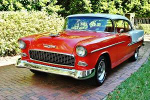 Simply the best of the best 4 speed with overdrive 1955 Chevrolet BelAir no post