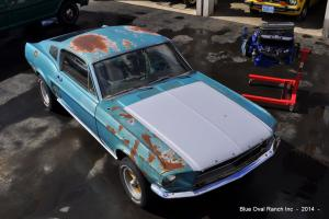 1967 Ford Mustang Fastback - Factory 390 S Code 4spd - Built 428 - Marti Report