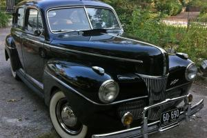1941 Ford Tudor All Original Survivor Car - 35,504 miles