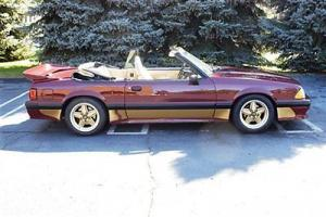 1989 Saleen Mustang convertible with only 15000 miles!