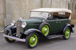 1932 Ford Deluxe Phaeton Convertible