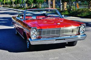 Amazing find original 65 Ford Galaxie 500XL Convertible just 44,296 beautiful.
