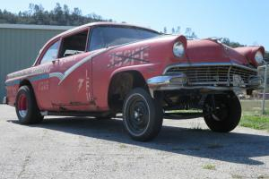1956 Ford Fairlane Gasser Mopar big block straight axle hot rod rat