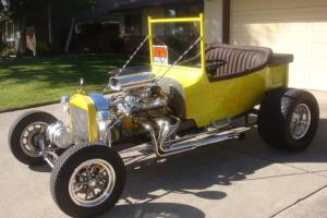 1923 Ford T-roadster,Custom paint with ghost flames