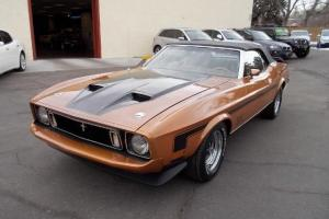 1973 Ford Mustang Convertible Q code
