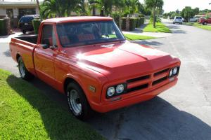 68 gmc c10-15 costum pickup a/c ,V8,auto,original short bed awsome restoration