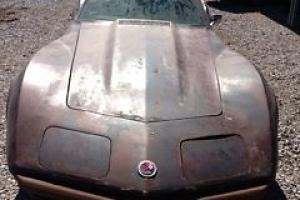 1974 Corvette 350 4 speed T Top numbers matching car telescopic tilt 74 L82 Photo