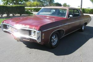 1969 Impala Custom Coupe, Original, Matching Numbers, 350, Automatic