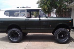 1975 International Harvester Scout II XLC Sport Utility 2-Door 5.6L