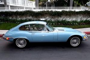 1972 Jaguar E-Type Coupe 2 + 2 Beautiful and Unrestored Photo