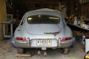 1968 Jaguar E-Type Coupe. Complete but requires total restoration
