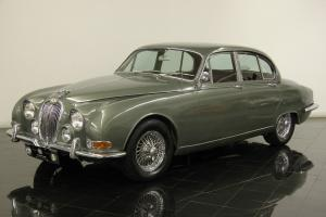 1965 Jaguar 3.8 S Type Numbers Matching Automatic New Chrome Wire Wheels Photo