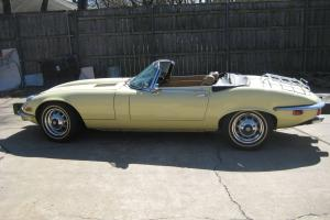 1973 JAGUAR : E-TYPE XKE SERIES 3 ROADSTER,V-12, 25,249 ORIGINAL MILES