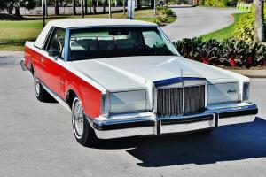 pristine 1982 Lincoln Mark VII bill blass loaded carriage roof one of and kind.