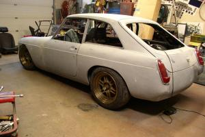 MGB GT V8 Hot Rod Sebring Project Photo