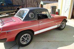 1977 MG MGB MK IV Convertible 2-Door 1.8L WITH HARD TOP
