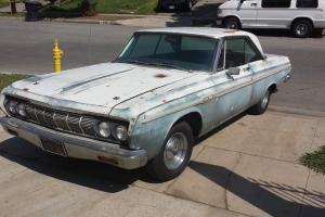 1964 Plymouth Sports Fury Factory Original 383 Car