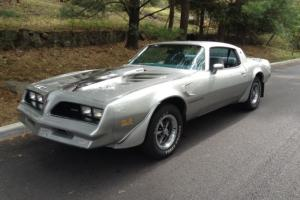 DOCUMENTED TRANS AM ONLY 84126 MILES 4 SPEED 400 CU IN A/C CAR