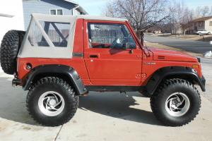1986 Suzuki Samurai 1.6L EFI 16 Valve, Gears, Lockers, Lifted on 33's