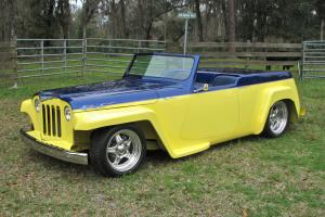 1948  Willys Overland Jeepster street rod custom