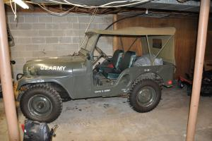 1951 M-38 A1 Military jeep
