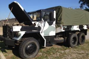1982 M35A2 Ex-USAF with Artic Bedliner paint job