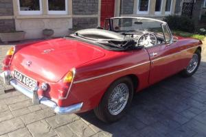 "1964 MGB Mk. 1 Roadster, Overdrive, Wires, ""Pull Handle Doors"" New MOT, Taxed Photo"