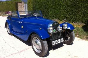 MORGAN 4 FLAT RAD DROP HEAD COUPE 1952 LHD
