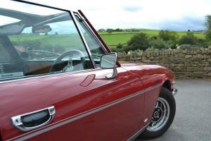 Triumph Stag mkII manual & o'drive - superb restored car