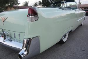 1955 CADILLAC SERIES 62 CONVERTIBLE GROUND UP BOLT AND NUT RESTORATION MINT CAR