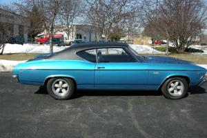 1969 CHEVELLE SS 396 4-SPEED ORIGINAL UNRESTORED