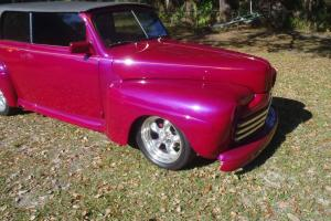 1946 FORD COUPE - CUSTOM ZZ TOP CAR WITH REMOVABLE HARDTOP