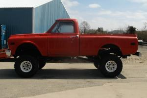 1969 GMC 4WD C1500 PICKUP USED GOOD PROJECT TRUCK