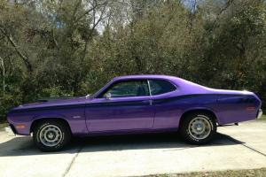 1973 PLYMOUTH DUSTER REAL 340 NUMBERS MATCHING HIGH OPTION CAR LOW RESERVE Photo