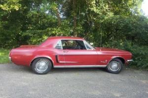 1968 Mustang Coupe, All original, numbers matching, excellent shape vehicle Photo