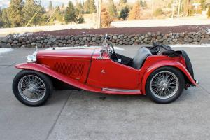 1938 MG TA Midget, CHARMING OLDER RESTORATION, RARE PRE-WAR SPORTS CAR!