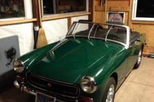 1973 MG Midget Lightweight Fully Restored Original Parts Photo