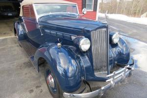 1937 Packard 115 Convertible Coupe