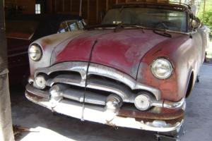 1953 packard convertible restoration project