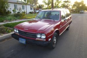 1978 peugeot station wagon diesel rare california car