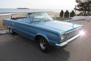 1966 PLYMOUTH SATELLITE CONV. #'S MATCH CERTICARD A/C