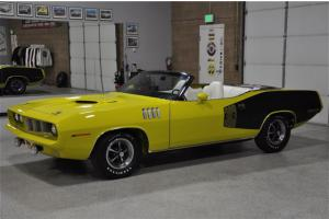 1971 PLYMOUTH 'CUDA CONVERTIBLE - The Finest in the World! - Heavily Documented!
